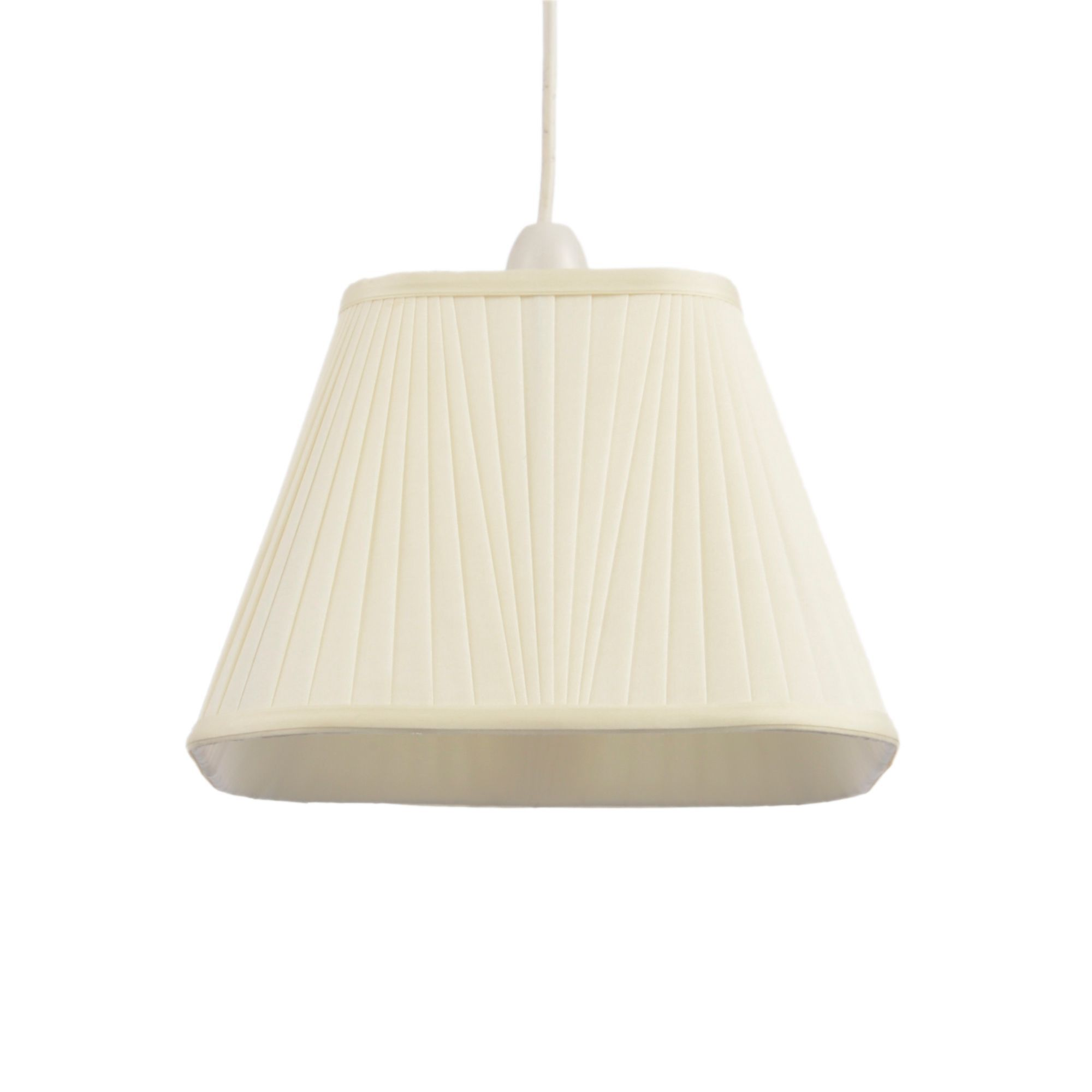 Colours Conwey Ivory Pleated Light Shade (d)25cm