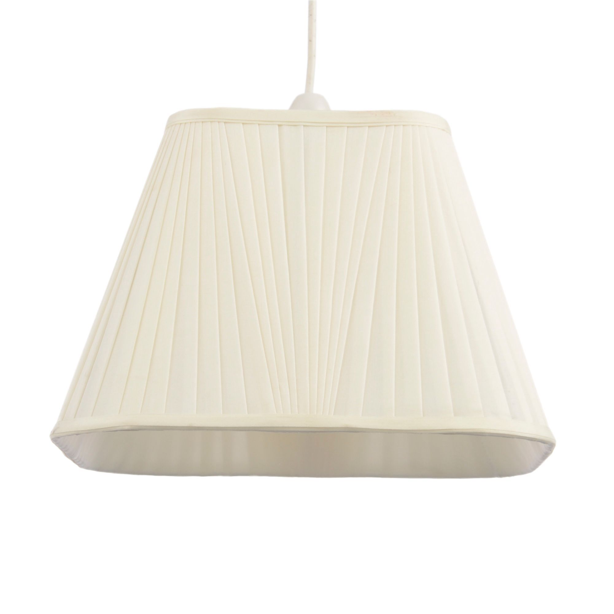 Colours Conwey Ivory Pleated Light Shade (d)30cm