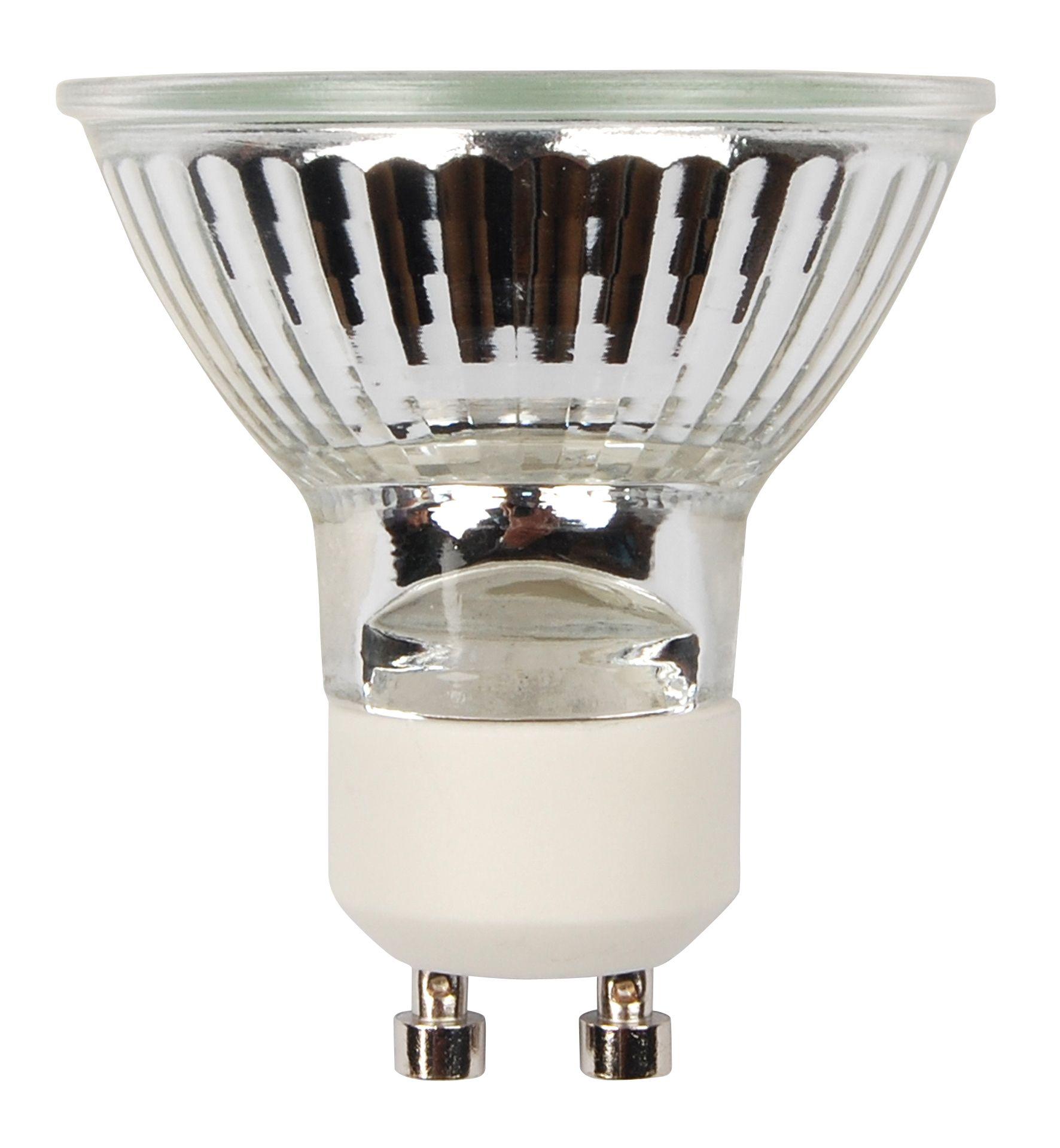 Diall Gu10 40w Halogen Dimmable Reflector Spot Light Bulb, Pack Of 20