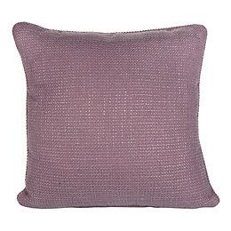 Carina Woven Blueberry & Purple Cushion