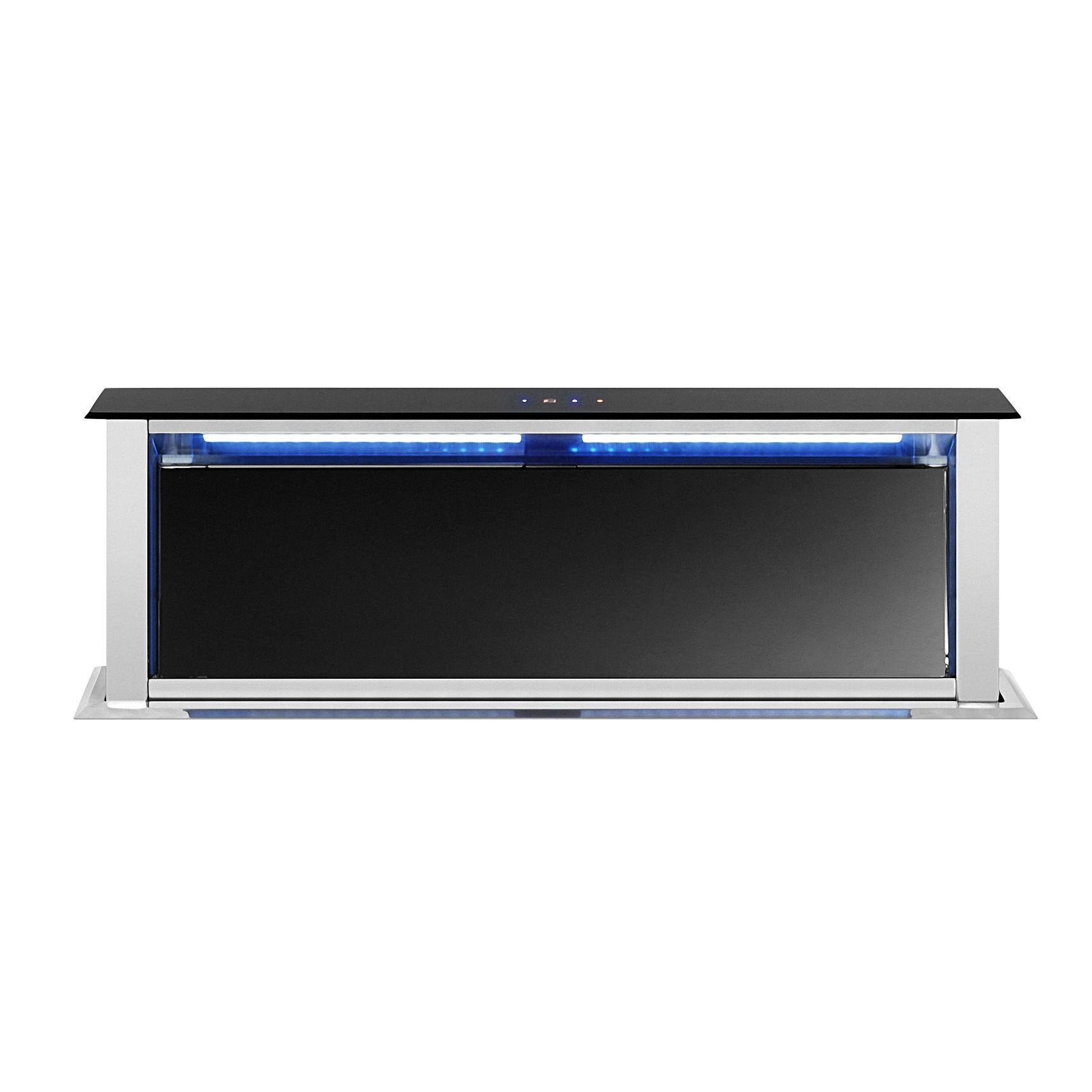 cooke lewis cldh 14 stainless steel downdraft cooker hood w 900mm departments diy at b q. Black Bedroom Furniture Sets. Home Design Ideas