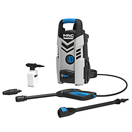 Mac Allister 1300W Pressure Washer 100 Bar