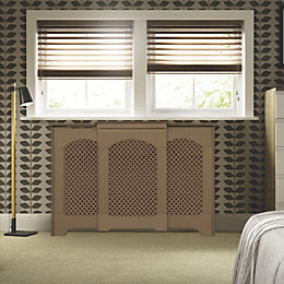 Adjustable Small - Medium Unfinished Radiator Cover