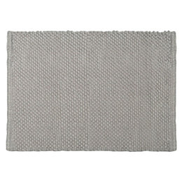 Cooke & Lewis Olson Taupe Cotton Bath Mat