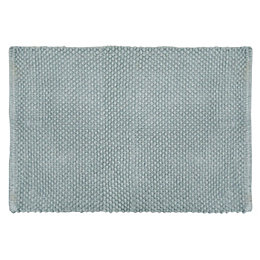 Cooke & Lewis Olson Grey Cotton Bath Mat