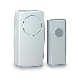 Blyss Wirefree White Plug-In Door Chime