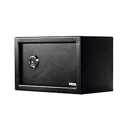 Diall 8.3L Lock & Key Small Mechanical Safe