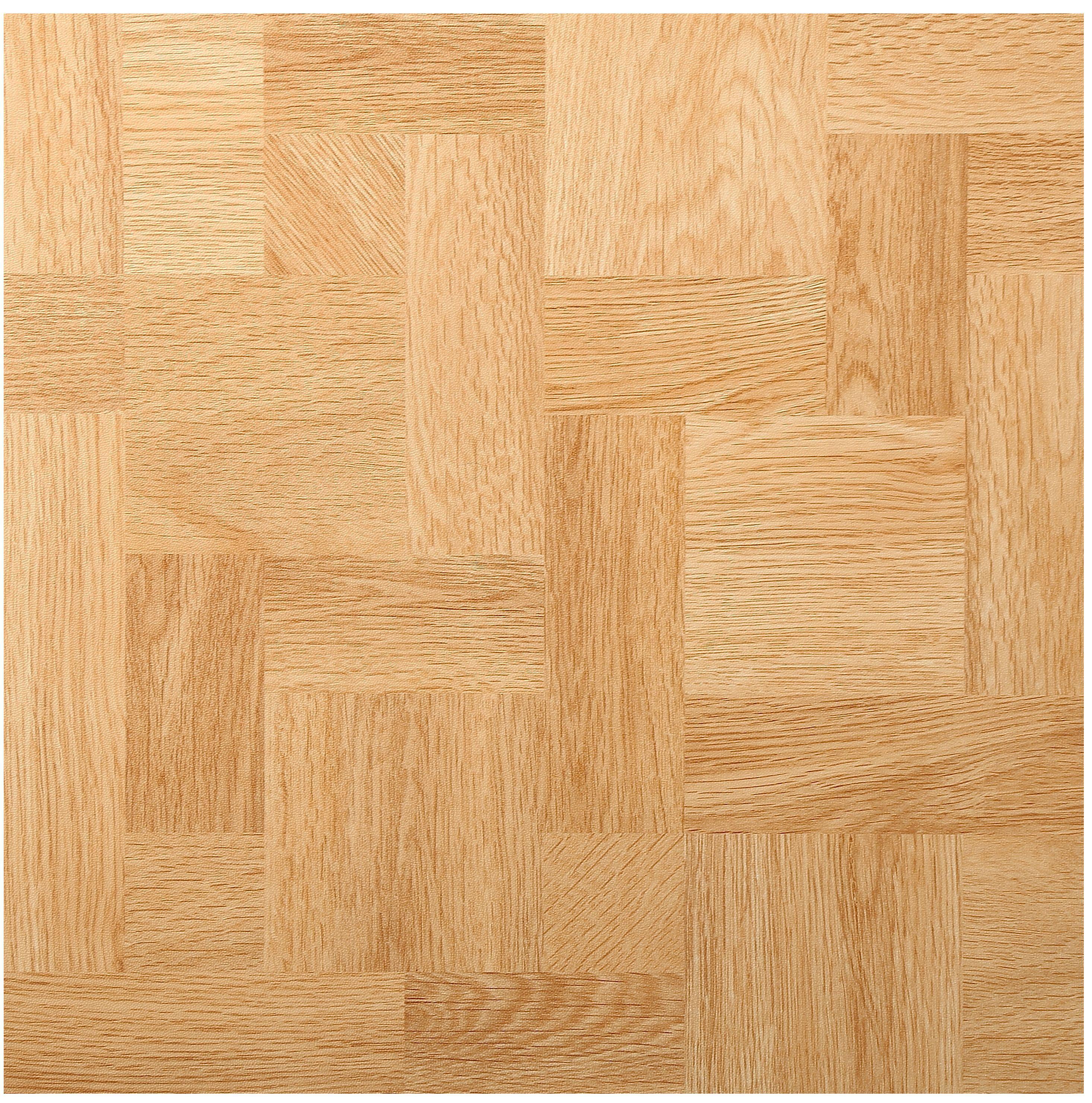 B&Q Natural Wood Effect Self Adhesive Vinyl Tile 1.02m²