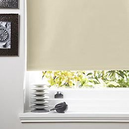 Colours Kona Corded Cream Roller Blind (L)160cm (W)180cm
