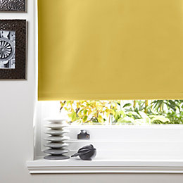 Colours Kona Corded Lemon Roller Blind (L)160cm (W)180cm