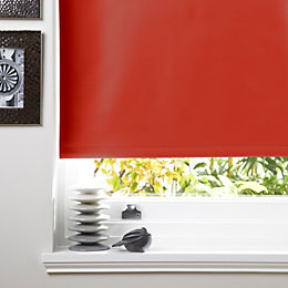 Colours Kona Corded Tomato Roller Blind (L)160cm (W)60cm