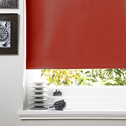 Colours Kona Corded Tomato Roller Blind (L)160cm (W)90cm