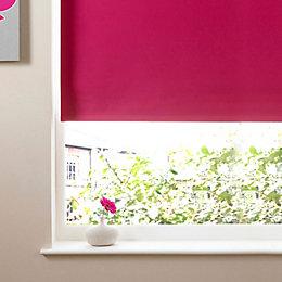Colours Kona Corded Pink Roller Blind (L)160cm (W)60cm