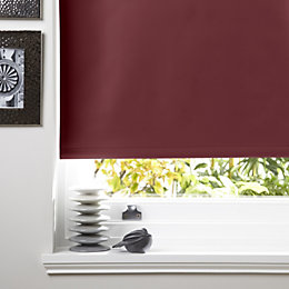 Colours Kona Corded Red Roller Blind (L)160 cm