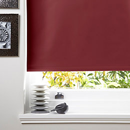 Colours Kona Corded Red Roller Blind (L)160cm (W)180cm