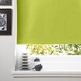 Colours Kona Corded Chlorophyll Roller Blind (L)160cm (W)90cm