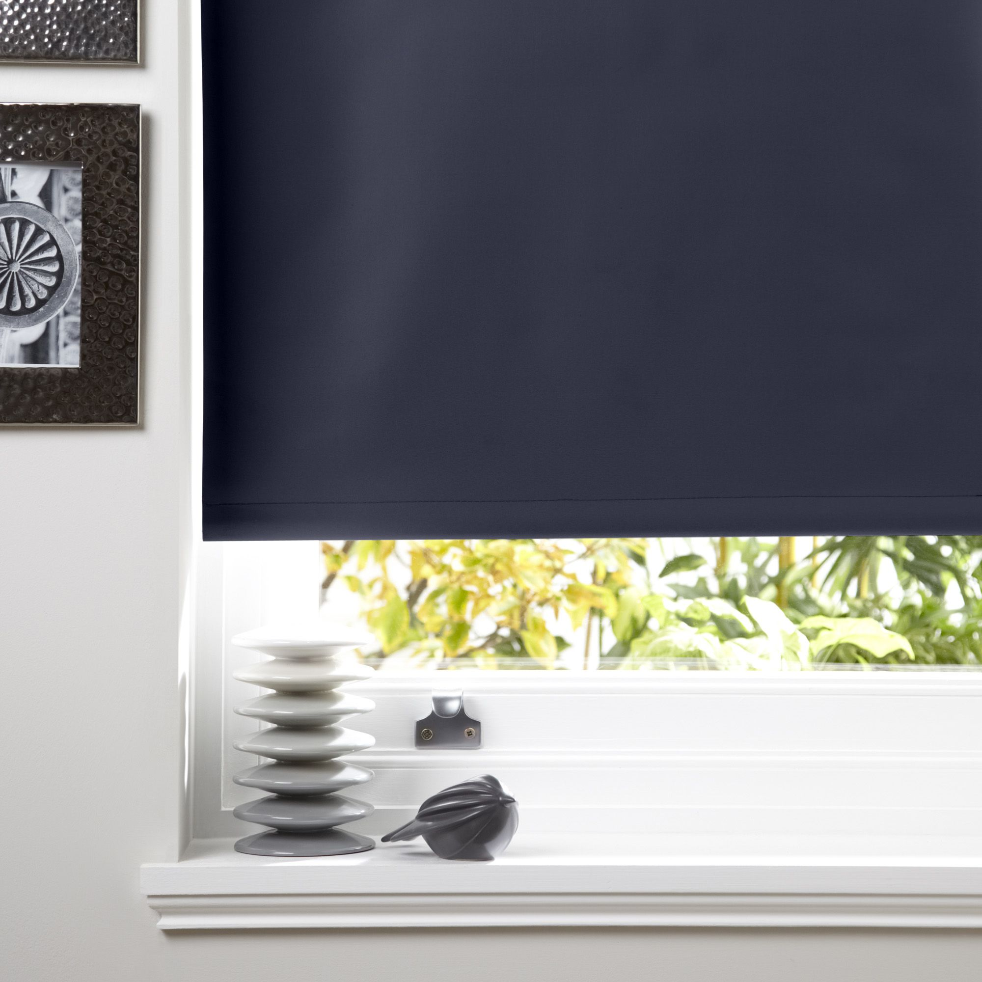 Colours Kona Corded Galapagos Roller Blind (L)160cm (W)60cm