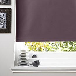 Colours Kona Corded Blueberry Roller Blind (L)160cm (W)60cm