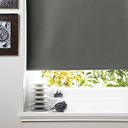 Colours Kona Corded Concrete Roller Blind (L)160cm (W)180cm