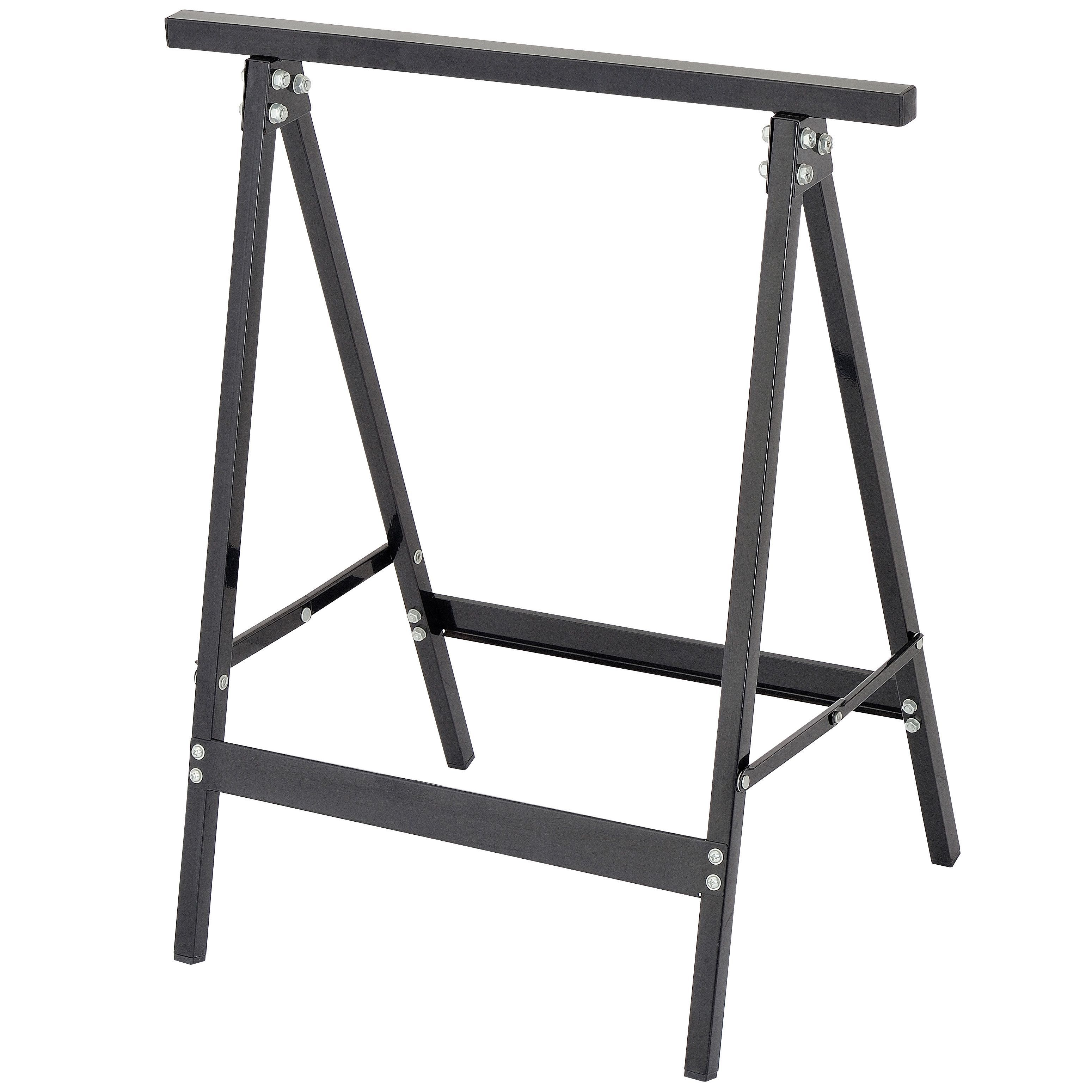 Furniture Legs B And Q mac allister foldable trestle, pack of 2 | departments | diy at b&q