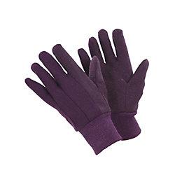 B&Q Polycotton Blend Jersey Gloves