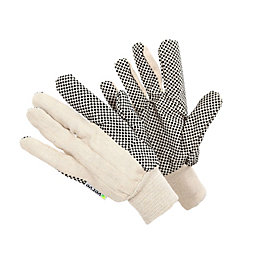 Verve Polycotton Blend Extra Grip Gloves