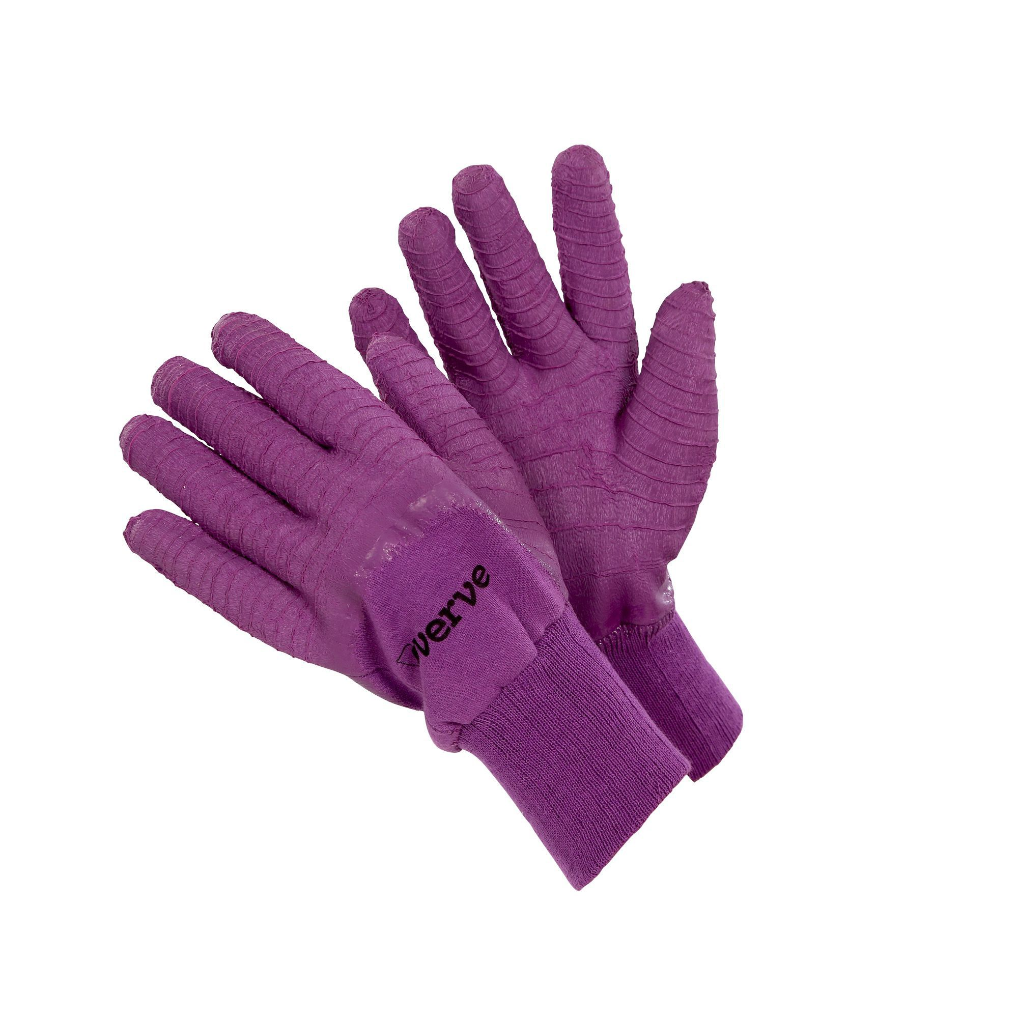 Verve latex polycotton blend ladies all purpose for Gardening gloves ladies