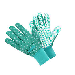 Verve Polycotton Blend Ladies Cotton Grip Gloves