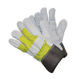 Verve Large Cotton & Leather Rigger Gloves