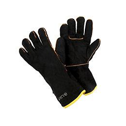 Verve Leather & Polycotton Blend Men's Gauntlets
