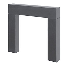 Hamdon Black Granite Fire Surround