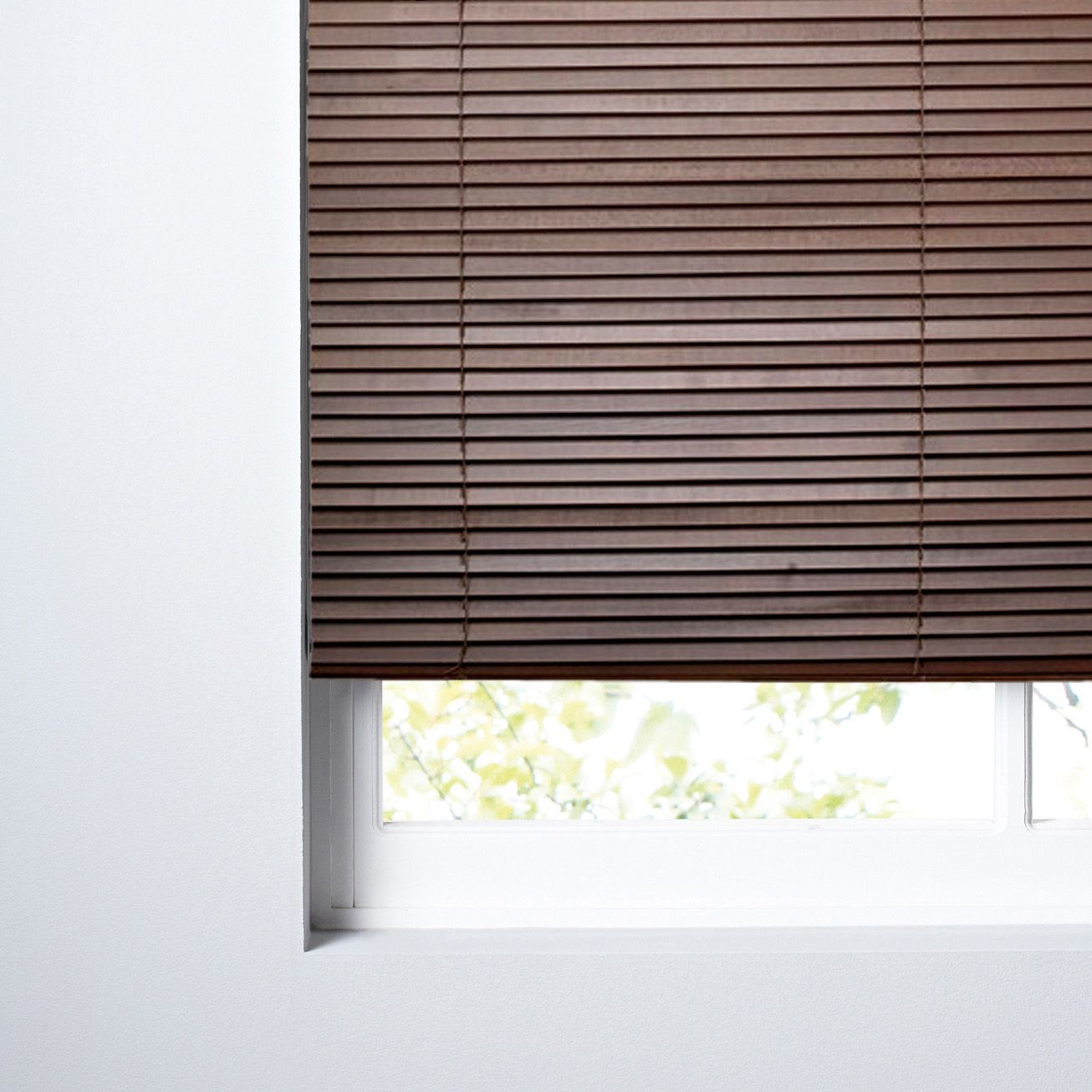 Colours Marco Dark Brown Venetian Blind (W)60cm (L)160cm