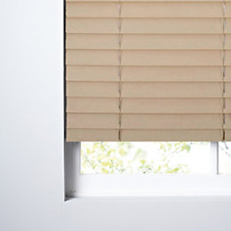 Colours Marco Cream Venetian Blind (W)60cm (L)160cm