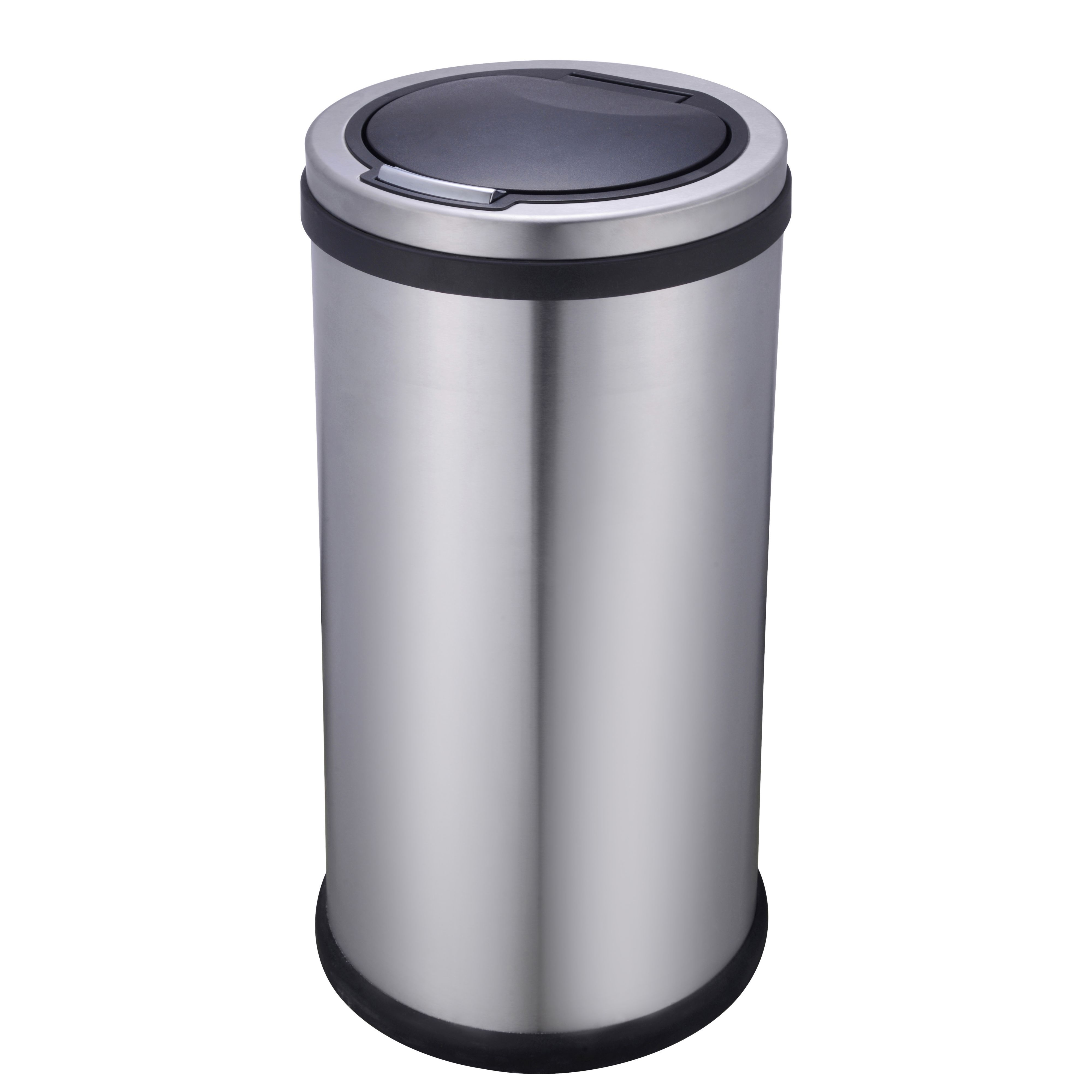 Cooke & Lewis 30 Kg Stainless Steel Touch Top Kitchen Bin