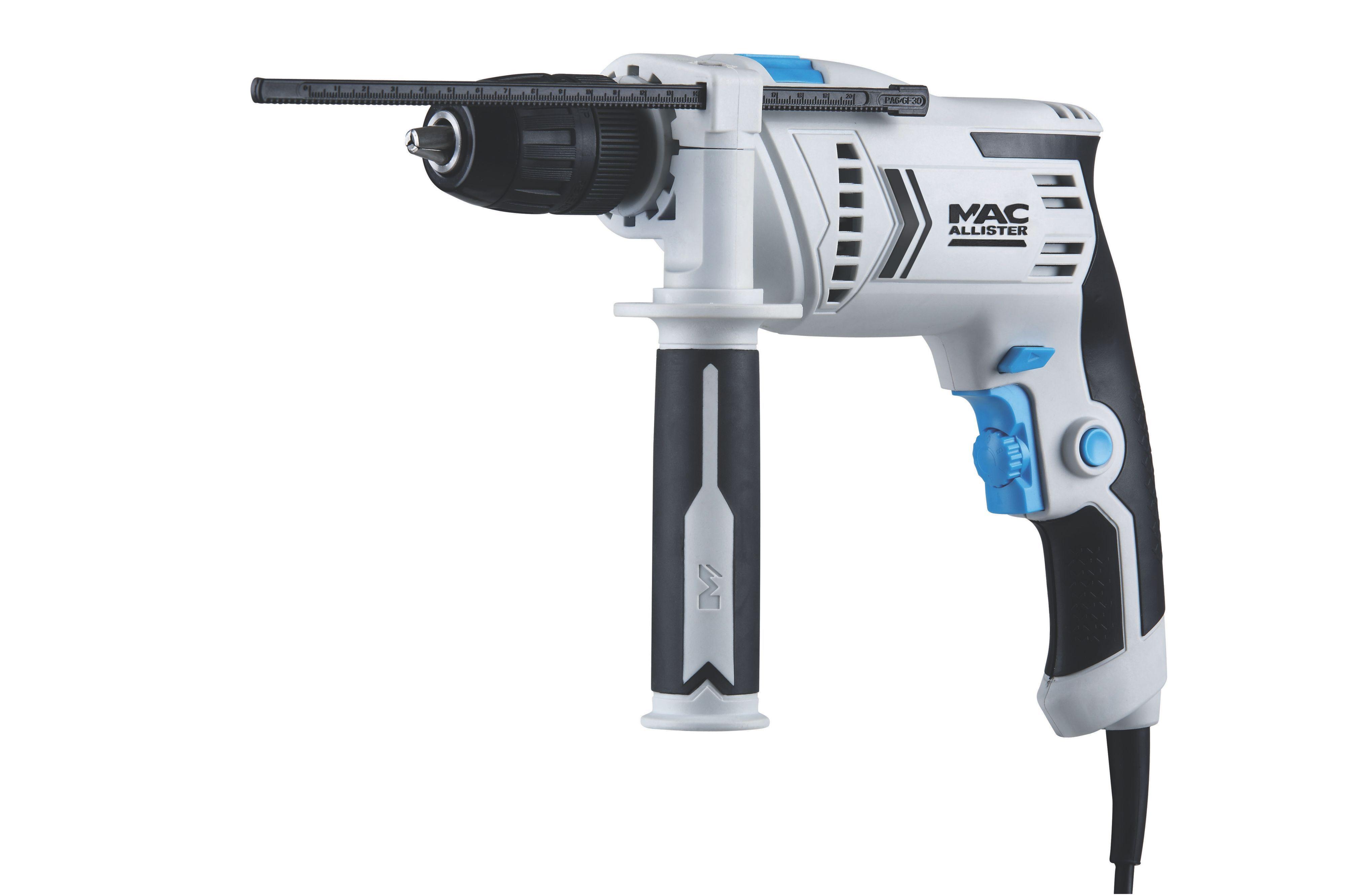 mac allister 600w corded hammer drill mshd600. Black Bedroom Furniture Sets. Home Design Ideas