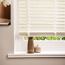 Colours Silvia White Venetian Blind (W)90cm (L)180cm