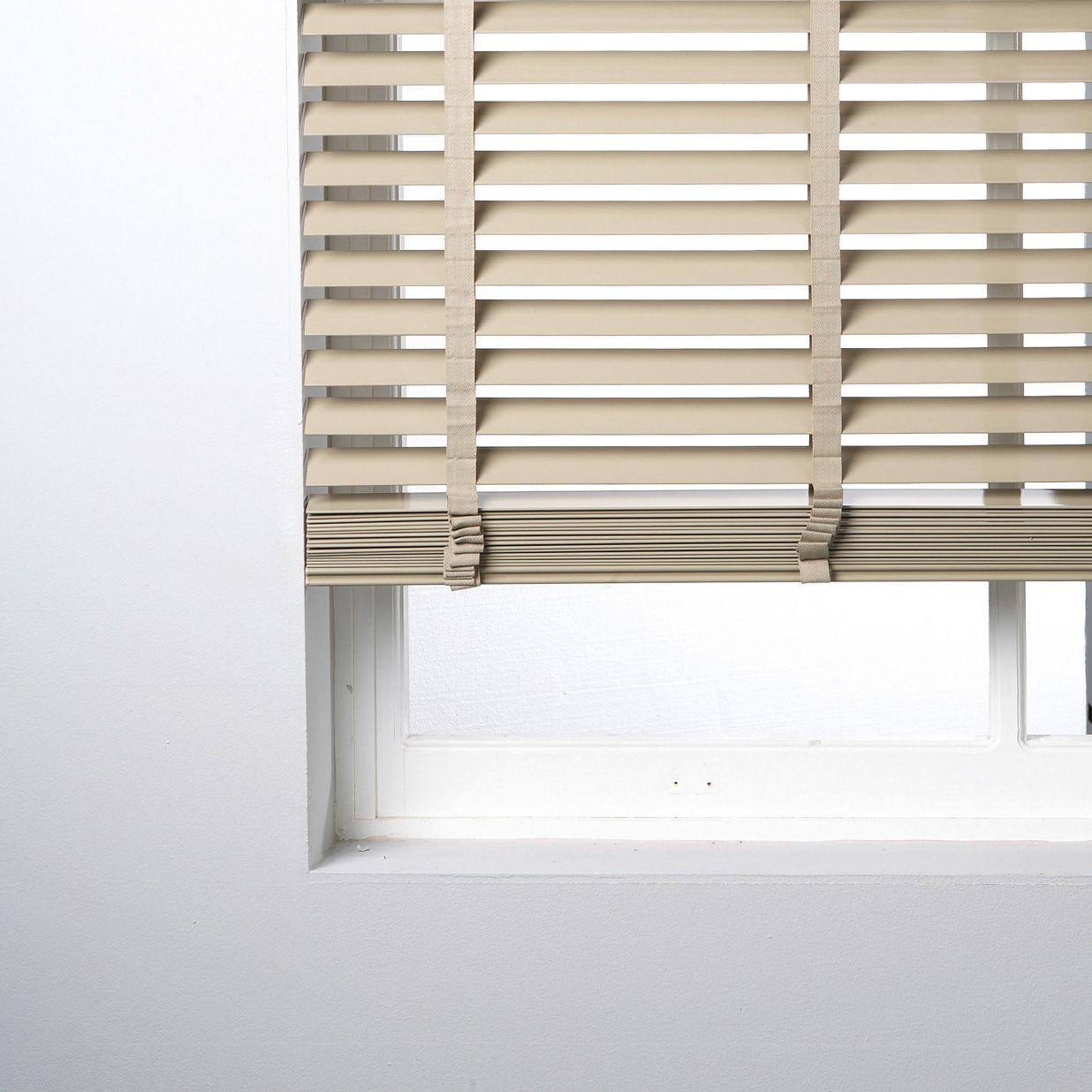 B Q Venetian Blinds: Colours Day & Night Corded White Roller Blind (L)160cm (W
