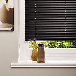Colours Concordi Black Venetian Blind (W)60 cm (L)180