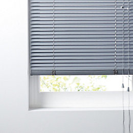 Colours Concordi Grey Venetian Blind (W)180 cm (L)180