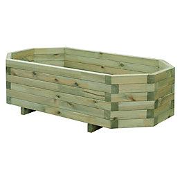 Wooden Trough (H)29cm (L)99.5cm
