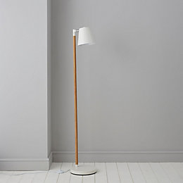 Adelsbury White Floor Lamp