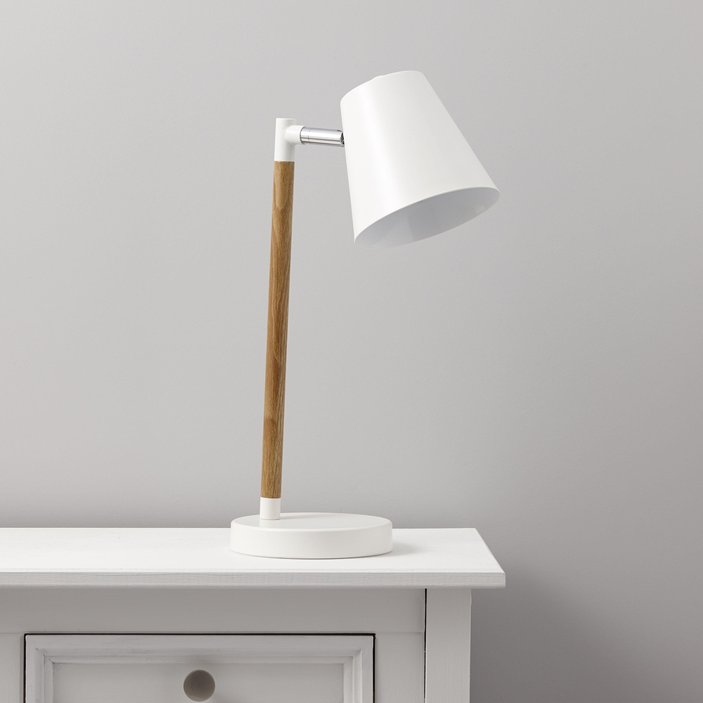 Adelsbury White Table Lamp