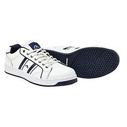 Rigour Navy & White Trainers, Size 8