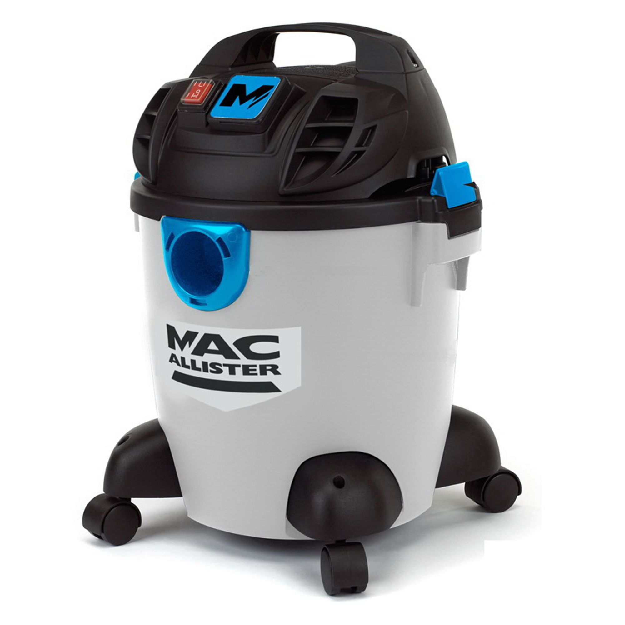 mac allister corded 16l bagged wet dry vacuum mwvpl16l departments diy at b q. Black Bedroom Furniture Sets. Home Design Ideas
