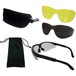 Diall Interchangeable Lens Safety Glasses