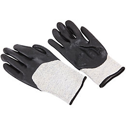 Diall 13PB-12022 Nitrile Foam Level 5 Cut Gloves,