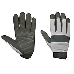 Diall Work Gloves, Size 9, Pair