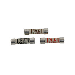 B&Q Mixed Fuse, Set of 20