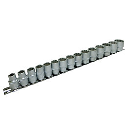 Mac Allister Drive Socket Set, 15 Pieces