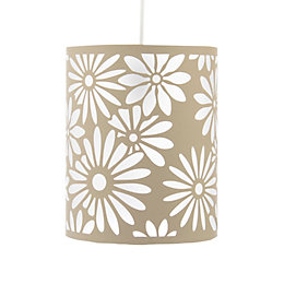 Colours Bloom Beige Floral Light Shade (D)20cm